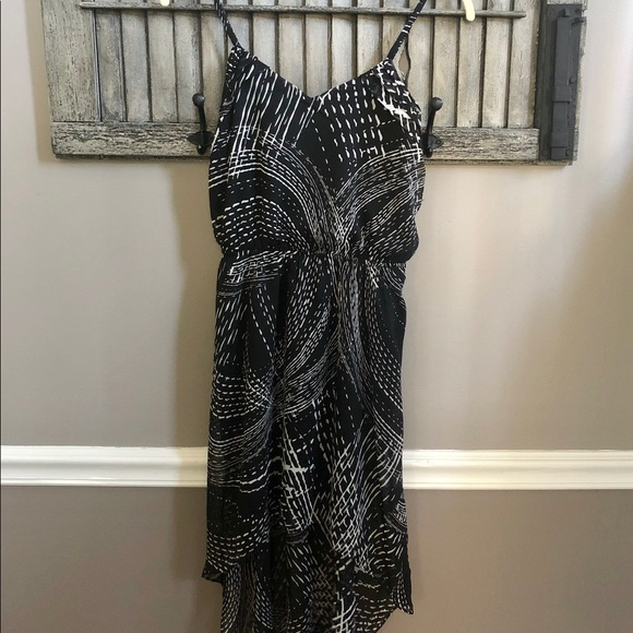 Express Dresses & Skirts - Express High Low Black & White Dress